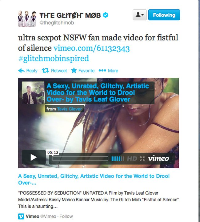 The-Glitch-Mob-Tweet-about-Video