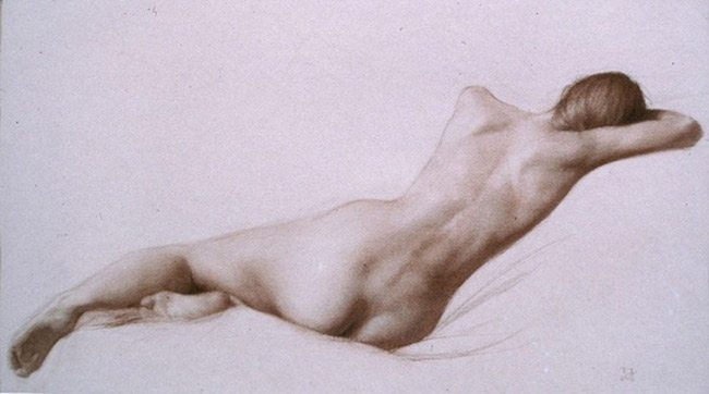 Mastering Composition with Juliette Aristides- Analyzed Nude Drawing