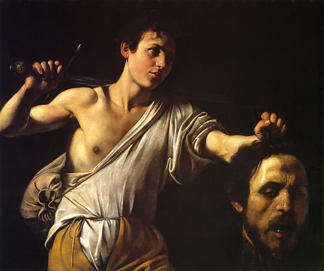 Caravaggio-David-With-Goliaths-Head