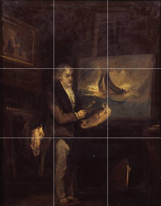 Mastering Composition Painting JMW Turner by JTSmith-thirds