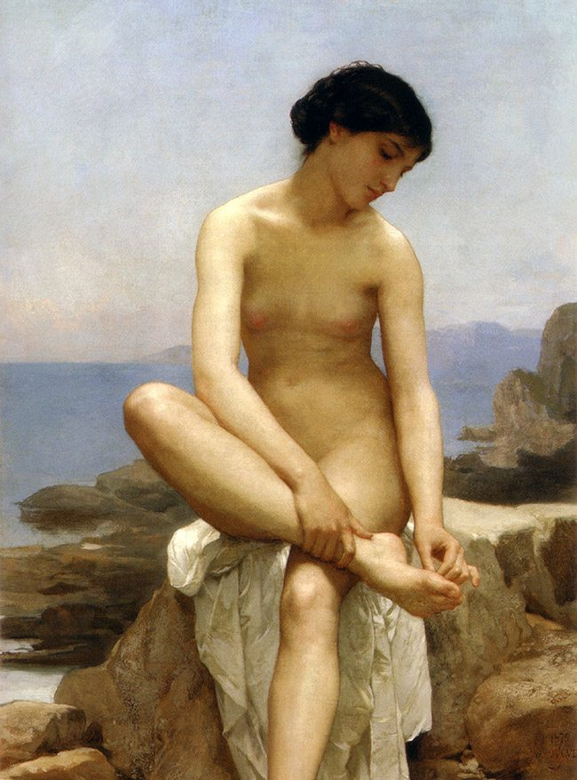 WilliamBouguereau-TheBather1