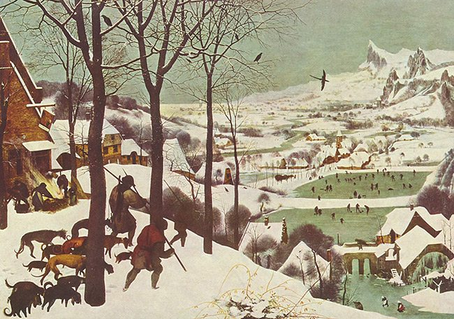 Bruegel=hunters-in-the-snow-