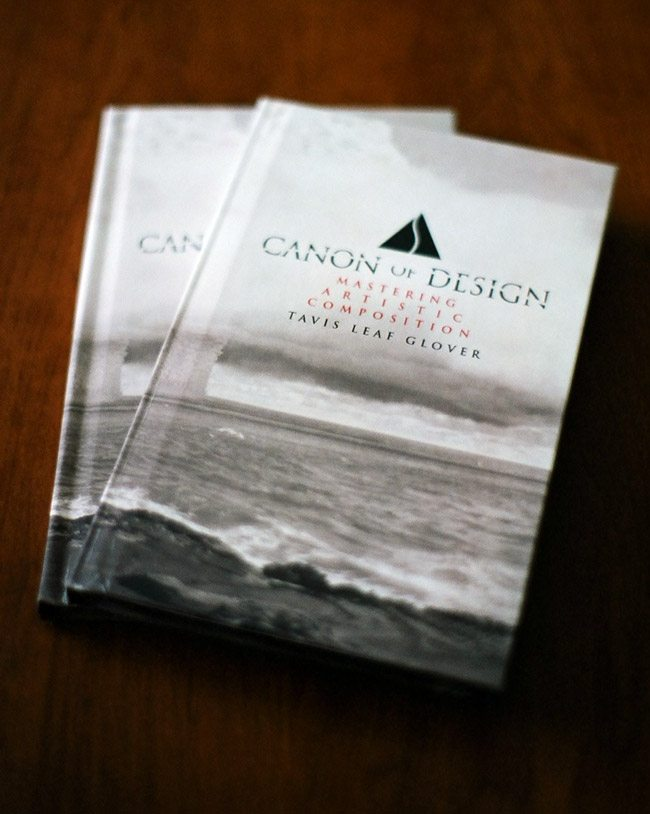 Mastering Composition Book Canon of Design- Book Cover-Hardcover Books