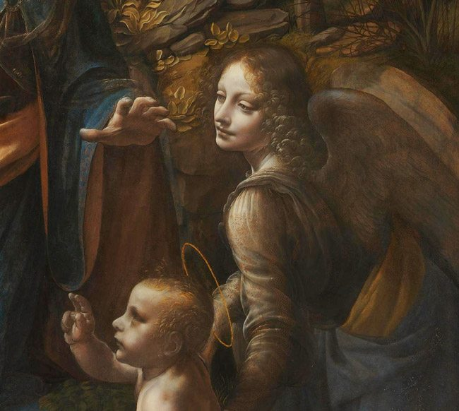 Leonardo da Vinci The Virgin of the Rocks NG1093