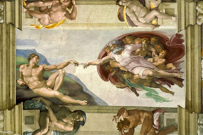 Creation-of-Adam-Michaelangelo