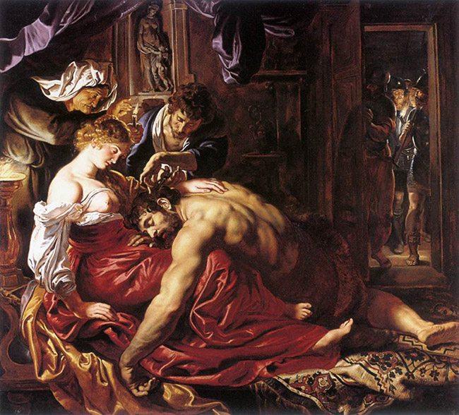 Rubens-samsonDelilah-OLphi