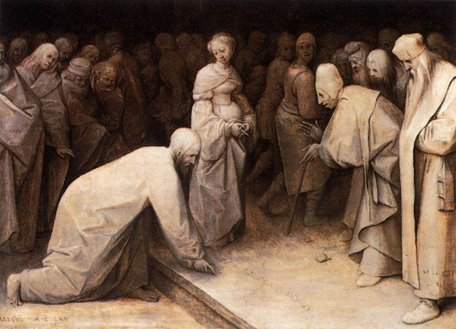 pieter-bruegel-the-elder-christ-and-the-woman-taken-in-adultery-1565-1