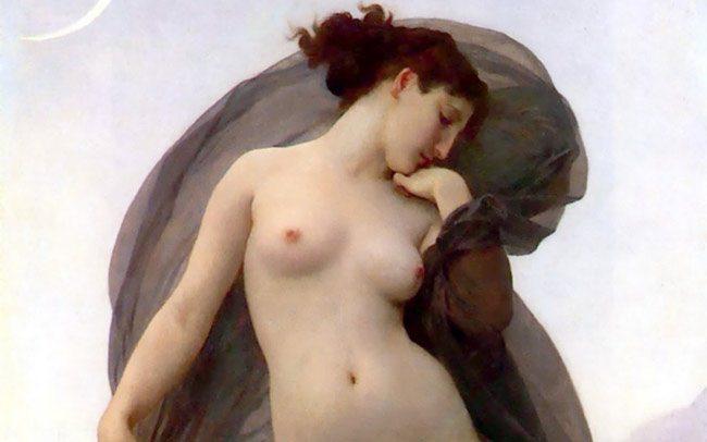 Bouguereau-tristezza-della-luna