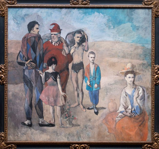 Picasso--Family-of-Saltimbanques--DC-glover
