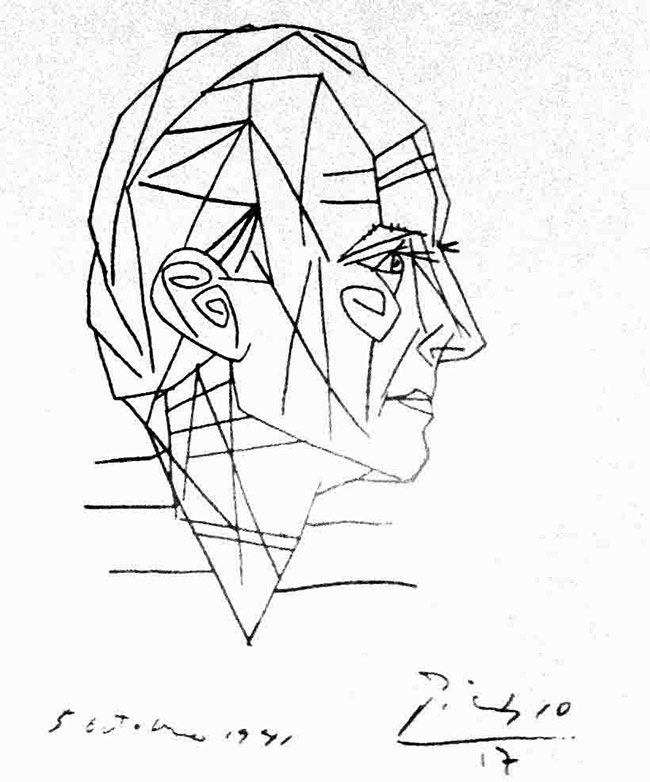 Picasso-paul-Eluard