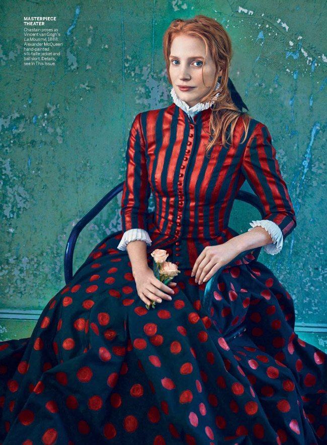 Annie-Leibovitz---Jessica-Chastain---Vogue_2013_12_06