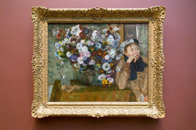 Degas-Flowers-Portrait