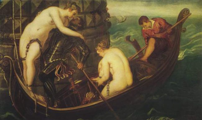 Tintoretto-nymphs