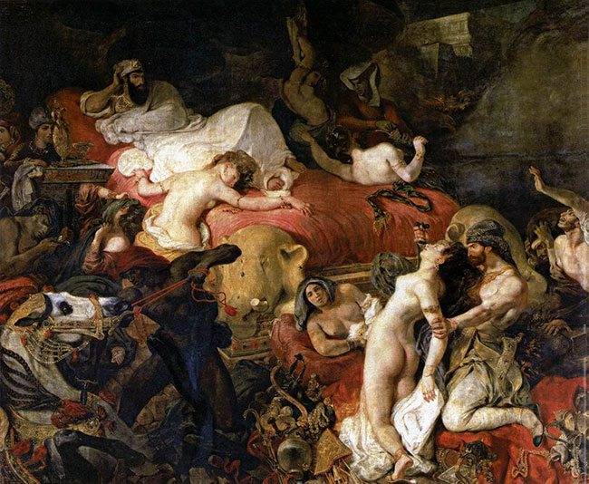 Delacroix-The-Death-of-Sardanapalus