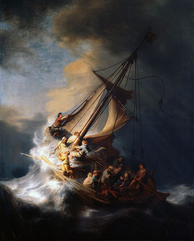 Rembrandt-storm
