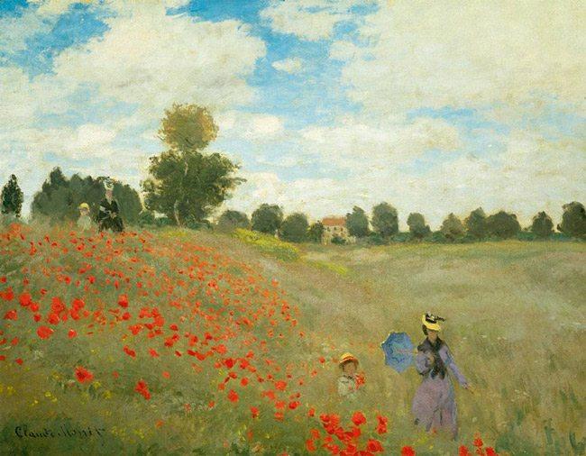 Claude_Monet-Das_Mohnfeld