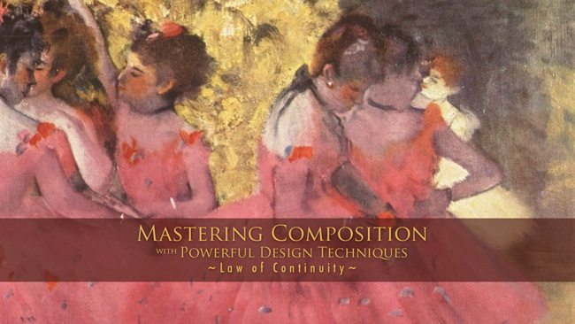 Law-of-Continuity-Gestalt Psychology Mastering Composition
