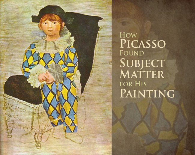 Picasso-Intro-paul-in-a-clown-suit
