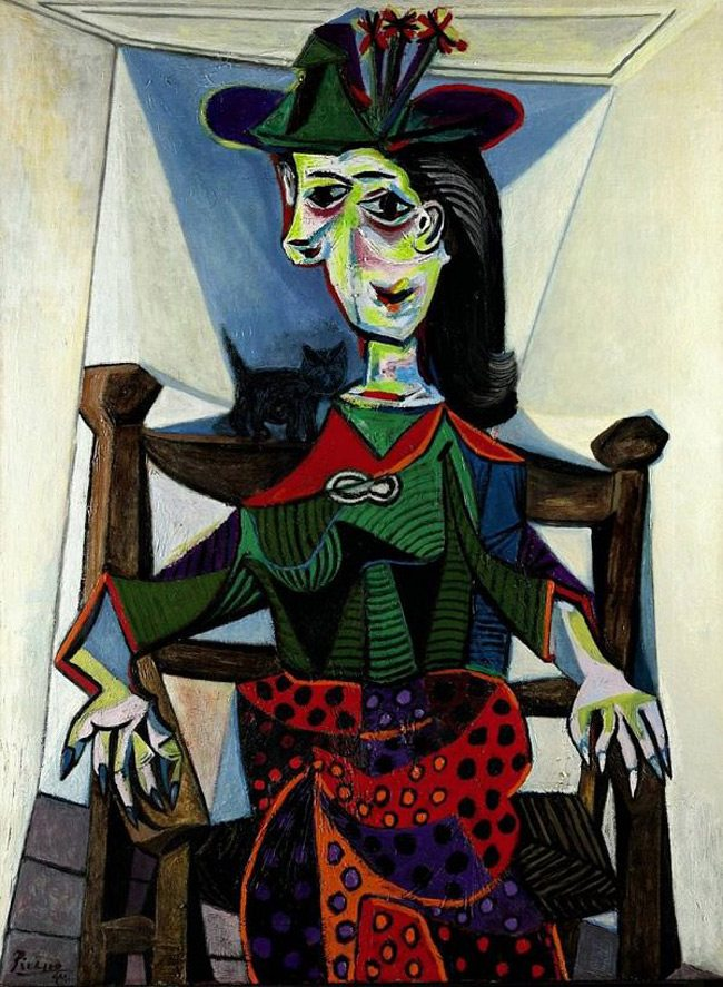 Picasso-Painting-dora-maar-au-chat