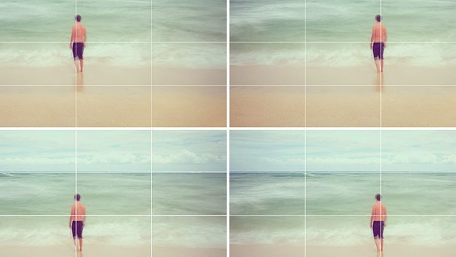 Rule of Thirds Comparison. Beach-Tavis Leaf Glover