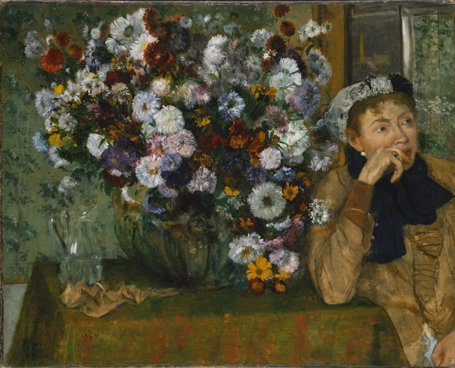Mastering-Composition-Degas-Flowers-Painting