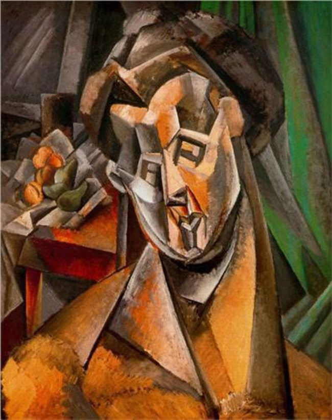 Mastering Composition-picasso-Woman-and-pears