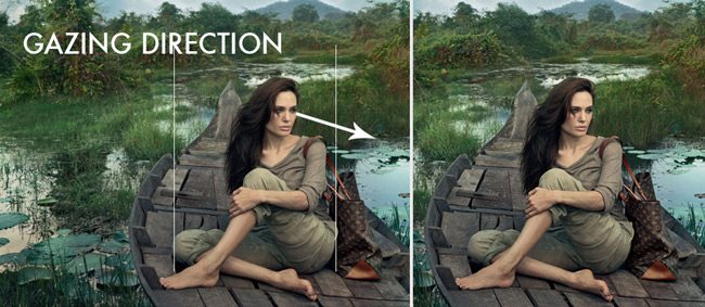 Mastering-Composition-with-Annie-Leibovitz-angelina-gazing-direction-3