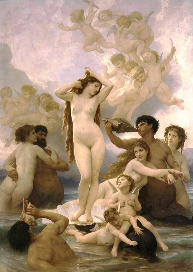 Mastering Composition with Bouguereau-BirthVenus