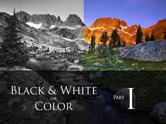Mastering Color Theory Techniques Black and White or Color