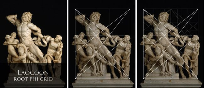 Mastering-Composition-with-dynamic-symmetry-grids-Laocoon-sculpture-Root-phi