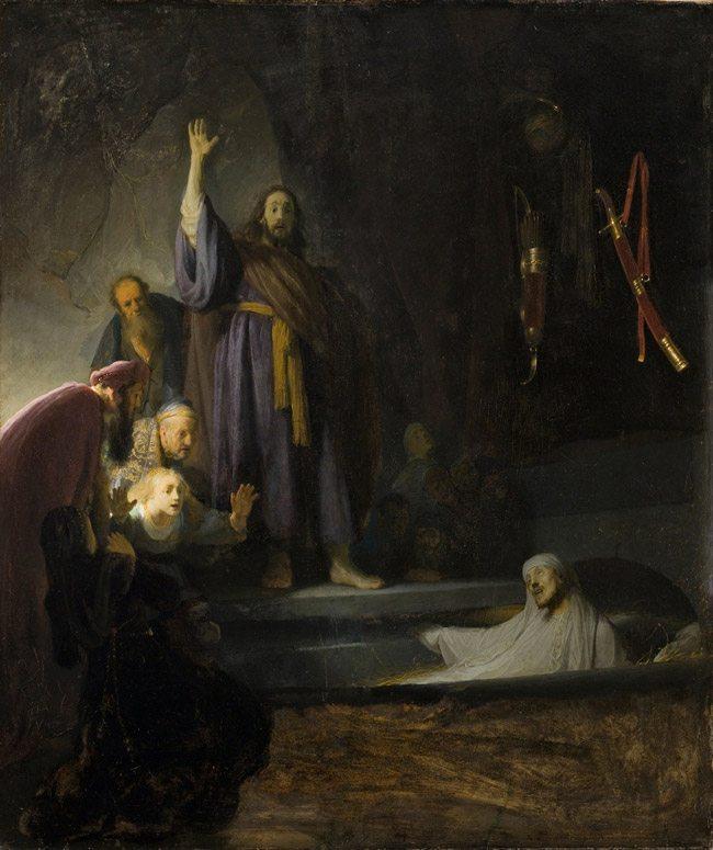 Mastering-Composition-with-Rembrandt_Harmensz._van_Rijn_-_The_Raising_of_Lazarust