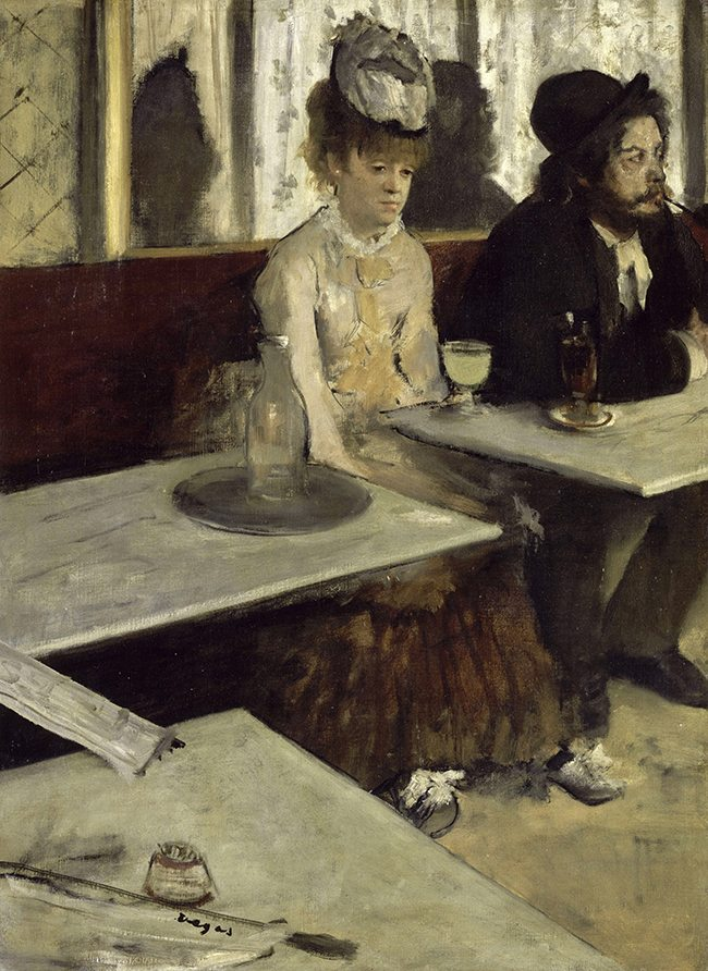 Mastering Composition with Absinthe Paintings014Edgar_Degas_-_In_a_Café_-_Google_Art_Project_2