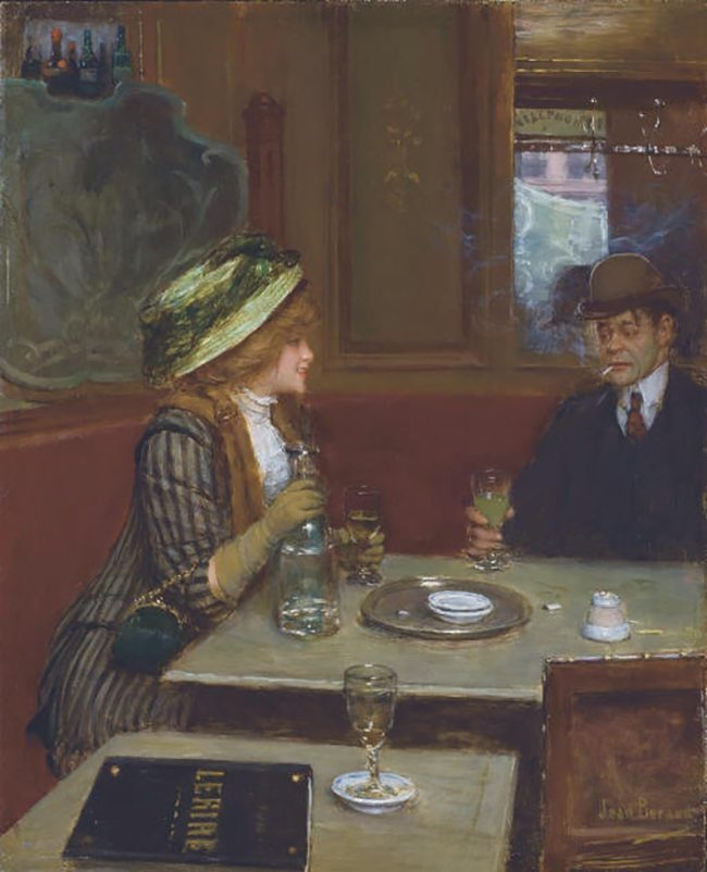 Mastering Composition with Absinthe Paintings018Jean Beraud absinthe 6