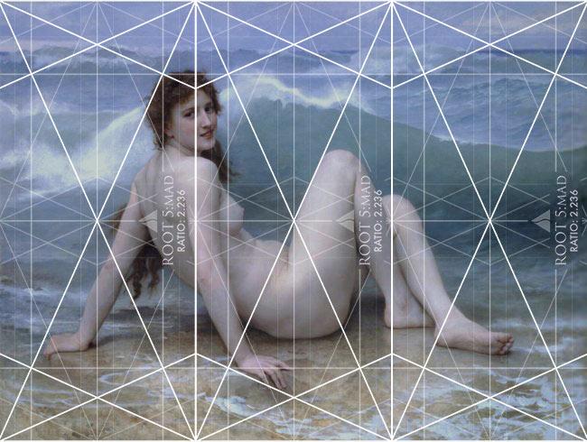 Law-of-Similarity-gestalt-psychology-technique-dynamic-symmetry-Bouguereau-The-Wave