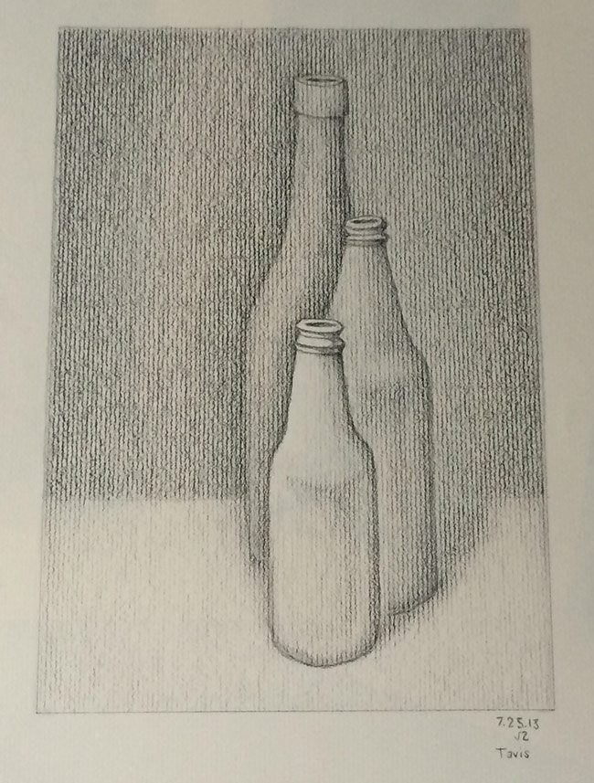 dynamic symmetry used for drawing-Bottle-barnstone-glover-single