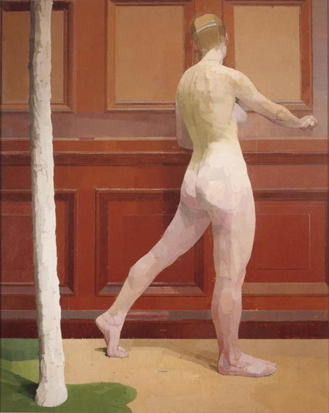 Dynamic-symmetry-and-composition-used-by-Euan-Uglow-Standing-Nude
